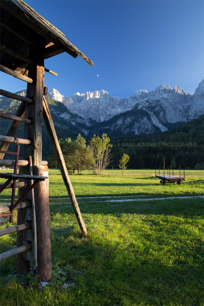 Upper Sava valley scene.